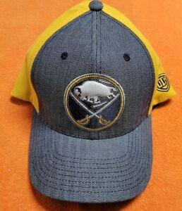 AUTHENTIC OLD TIME HOCKEY BUFFALO SABRES FLEXFIT CAP L / XL NWOT
