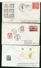 LOT OF 9 COVERS, U.S. POSSESSIONS (4 SCANS)