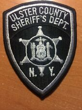 PATCH POLICE SHERIFF ULSTER COUNTY - NY NEW YORK state