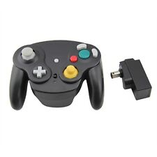 Gamecube Nintendo Wii Wavebird Style Wireless Controller  - Black