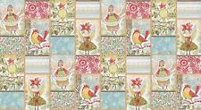 Blend Merry Stitches by Cori Dantini Little World of Wonder Fabric Panel