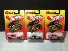 Hot Wheels Hot Ones '71 Mustang '84 Grand Prix Pontiac Fiero CHASE Lot Of 3