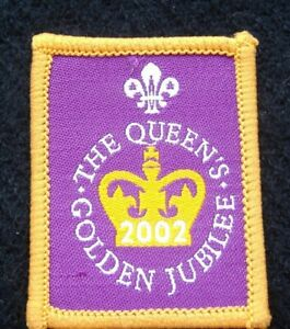 Vintage Scout 2002 'The Queens Golden Jubilee' Badge (JJO)