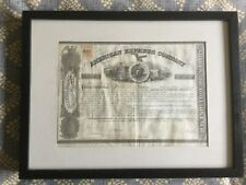 American Express share certificate 1865