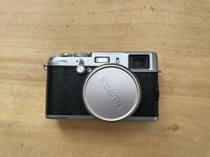 Fujifilm X100 Compact Camera - Silver with Full Case