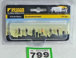 G799 Bachmann Farish Scenecraft 379-300 Businessmen figures N