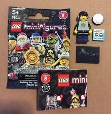 Table Karaoke Singer Minifigure LEGO DJ Deck w// Microphone Speaker Boombox
