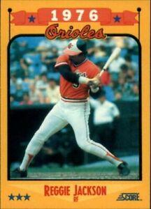 A0417- 1988 Score Baseball Cards 501-660 +Rookies -You Pick- 10+ FREE US SHIP