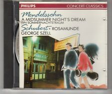 (HH544) Mendelssohn, A Midsummer Night's Dream/Schubert, Rosamunde - 1989 CD