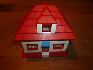 Lego System Haus nach BA aus Prospekt 50er 60er 60s Dach Ziegel vintage