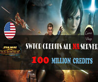 50000000 SWTOR Credits 50 Million Star Wars The Old Republic