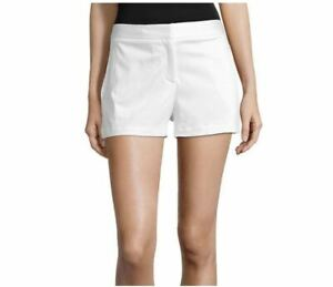 Worthington White Women's High Rise Midi Shorts (Size: 12)