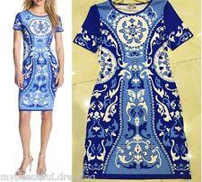 MW007629 - DESIGNER MULTICOLOUR JERSEY SILK DRESS (#555)