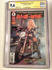 CGC 9.6 SS Barb Wire Movie Special signed by Pamela Anderson photo cover not 9.8