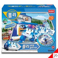 Robocar POLI Pocket Play Set Police Station Mini Car Transformer Robot Toy