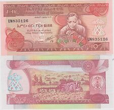 Etiopia / Ethiopia 10 birr FDS / UNC