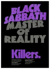 Black Sabbath *LARGE POSTER* Master Of Reality Promo OZZY Vintage AMAZING IMAGE