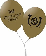 """Kentucky Derby 11"""" Latex Balloons - 10 per set"""