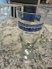 """Mickey Mantle's New York Restaurant 8 1/4"""" Pilsner Beer Glass - Defunct EUC"""