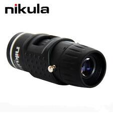 Nikula 7X18 Bolsillo Monocular Automático Foco Mini Telescopio Aire Libre Campi