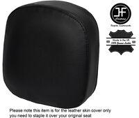 BLACK STITCH CUSTOM FITS HONDA F6C VALKYRIE 96-05 BACKREST LEATHER SEAT COVER