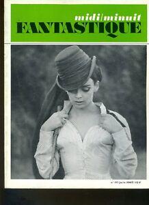 (206A) Midi Minuit Fantastique N°17 Juin 1967