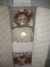 Hamilton Collection Amelia Porcelain Doll by Virginia Turner New in box COA