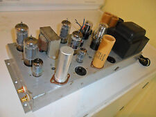RESTORED CONN STEREO TUBE POWER AMPLIFIER  7868 Tubes -  Stereo HiFi Amp AH6032
