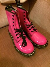 *Brand New* Dr Martens 1460 Patent Pink Boots UK 6