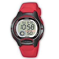 Casio Standard Ladies Digital Watch Casual Red Band Lw-200-4a