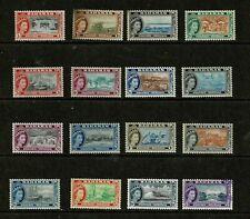 DF490 BAHAMAS 1954 Queen Elizabeth II and local motives  low start price