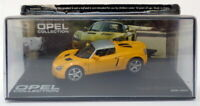 Eaglemoss 1/43 Scale EG23520B - 2000-2005 Opel Speedster - Yellow