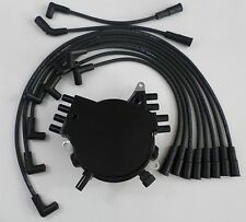 CAMARO/FIREBIRD 92-94 LT1 5.7L 350 OPTISPARK Distributor, BLACK Spark Plug Wires