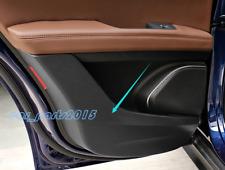 Carbon Fiber Door Anti Kick Pad Protective Trim For Alfa Romeo Stelvio 17-18
