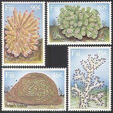 Fiji 1989 Corals/Marine/Nature/Wildlife/Environment/Conservation 4v set (n40427)