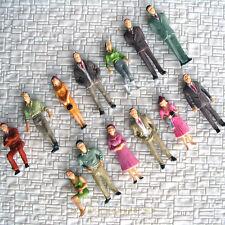 Lot de 650 PERSONNAGES 1:48 échelle O peint figurines