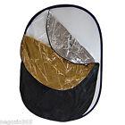 Set Pannello 5in1 150x200 Pieghevole con Diffusore suprf Bianco Nero Argento Oro