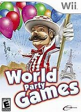 Nintendo Wii World Party Games Video Game - FREE SHIPPING