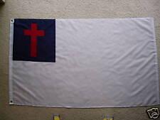 3' X 5' CHRISTIAN  FLAG 3 X 5