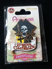 PINS DISNEY DLP PARIS PIN PIRATES OF THE CARIBBEAN ATTRACTION 99506