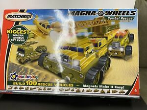 Matchbox Toys R Us Exclusive Magna Wheels Combat Rescue Mission 31 - 2003 NEW