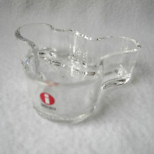 iittala Design Alvar Aalto Collection Bowl Schale Glas klar 98mm gemarkt TOP!