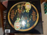 Anthrax, For All Kings, 2XLP w Slipmat - Yellow Splatter Vinyl, New, Sealed
