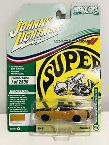 JOHNNY LIGHTNING MUSCLE CARS USA 1969 1/2 DODGE CORONET SUPER BEE BUTTERSCOTCH
