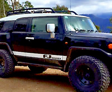 Toyota FJ Cruiser Door Stripe Decal - Vinyl - Matte White - 1 Pair