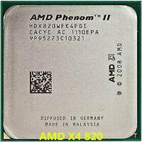 AMD Phenom II X4 820 CPU Quad-Core 2.8 GHz 4M 95W Socket AM3 Processors