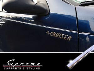 CHRYSLER PT Cruiser Chrom Zierleisten Tuning 3M Türleisten 9 Stk