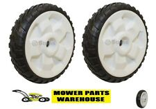 "(2) NEW REPLACEMENT TORO 8 INCH DRIVE WHEELS FWD 22"" RECYCLER 119-0311"