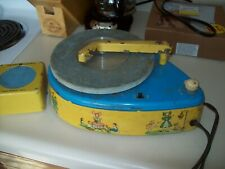 Vintage - TIN - General Electric Record Player - Parts or Repair