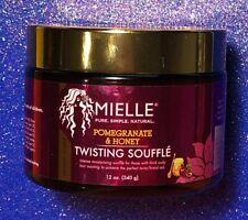 Mielle Pomegranate Honey Twisting Souffle 12 oz. Thick Curly Perfect Twist Braid